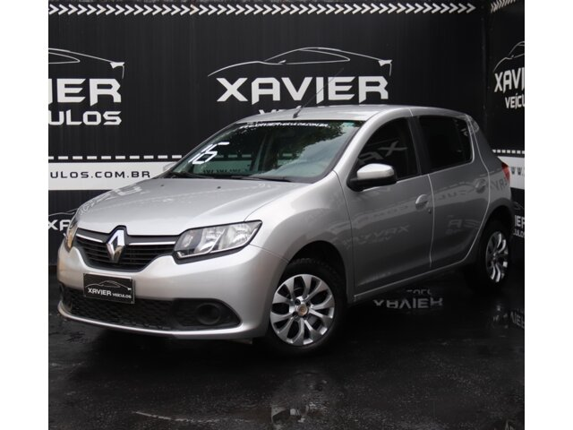 Renault Sandero – 2016 – Prata