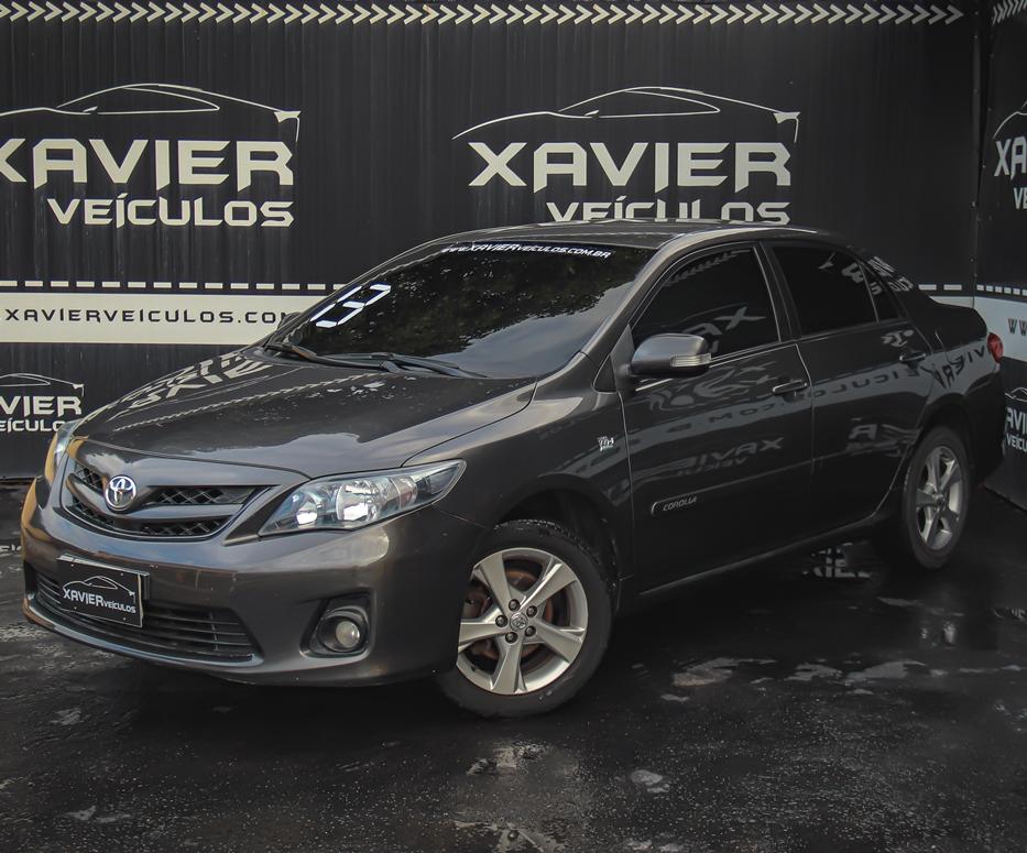 Toyota Corolla – 2013 – Cinza