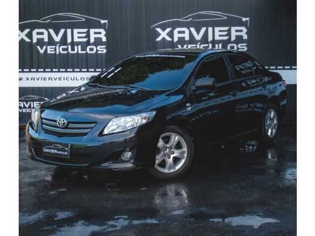 Toyota Corolla – 2011 – Preto
