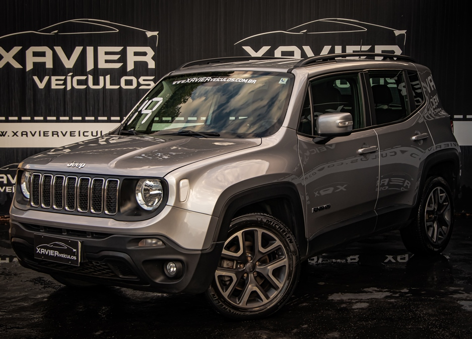 Jeep Renegade – 2019 – Prata