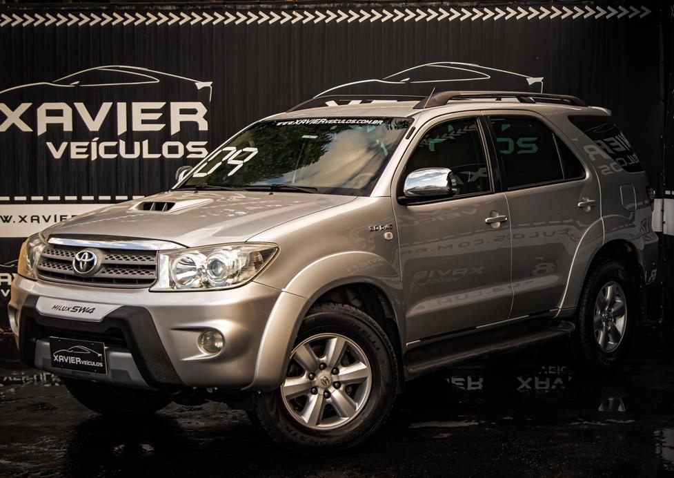 Toyota SW4 – 2009 – Prata