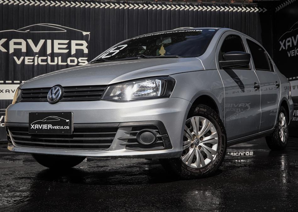 Volkswagen Voyage – 2018 – Prata