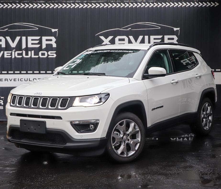 Jeep Compass – 2021 – Branco