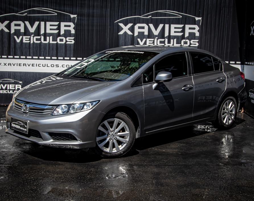 Honda Civic – 2013 – Cinza