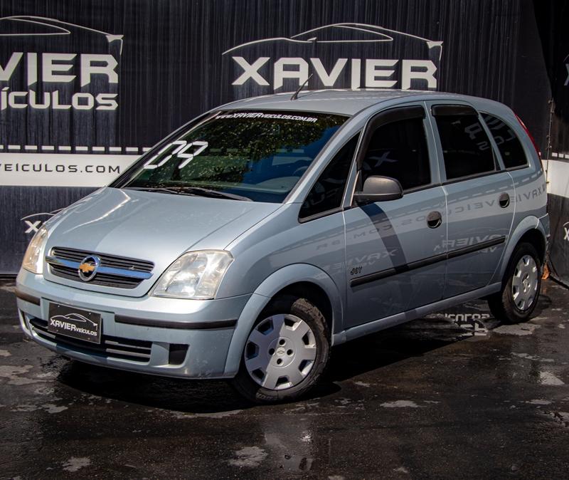Chevrolet Meriva – 2008 – Prata