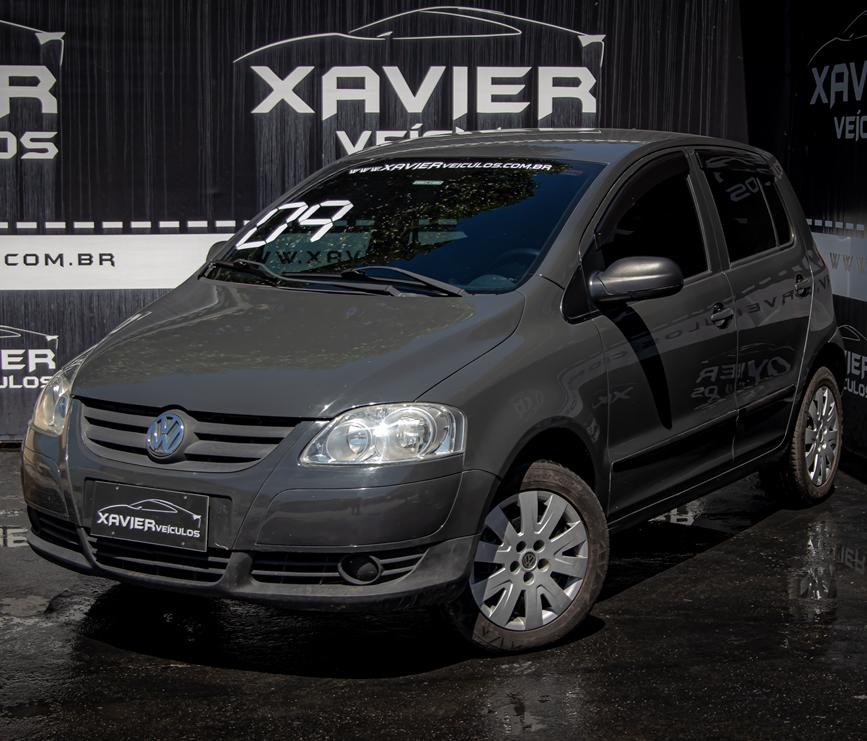 Volkswagen Fox – 2009 – Cinza