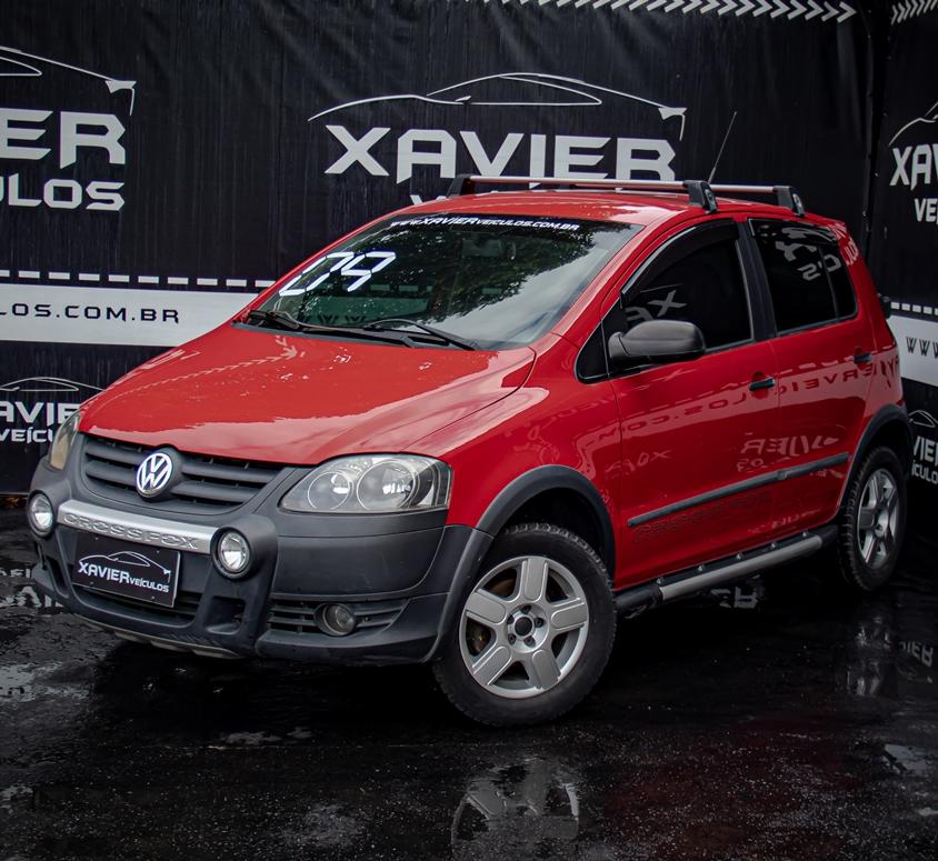Volkswagen CrossFox – 2009 – Vermelho