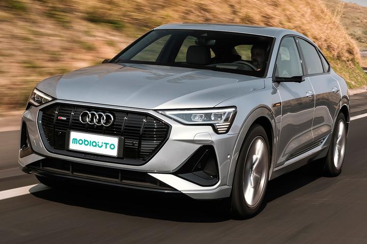 Excêntrico, Audi e-tron Sportback usa eletricidade e troca espelhos externos por câmeras, mas toda sua tecnologia custa mais de R$ 650 mil
