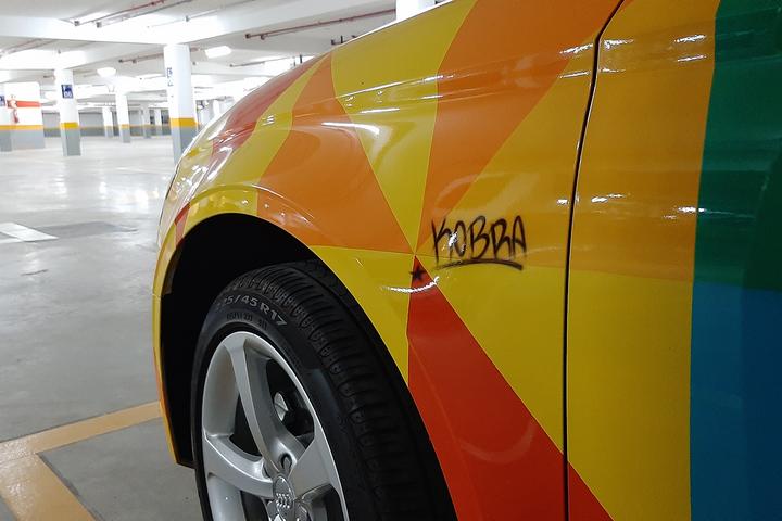 Em meio ao fim da produção do modelo no país, encontramos o primeiro A3 Sedan nacional no canto de uma garagem. Modelo tem pintura especial e homenageia Senna