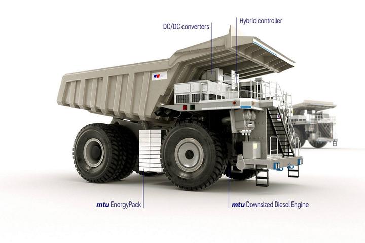 Marca britânica lança motor híbrido destinado a caminhões de mineração, prometendo redução de 30% de CO₂ e com 520 kgfm de torque