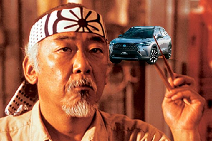 Toyota Corolla Cross é o Sr. Miyagi de Cobra Kai